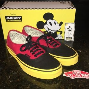 Vans Shoes | Mickey Mouse The True